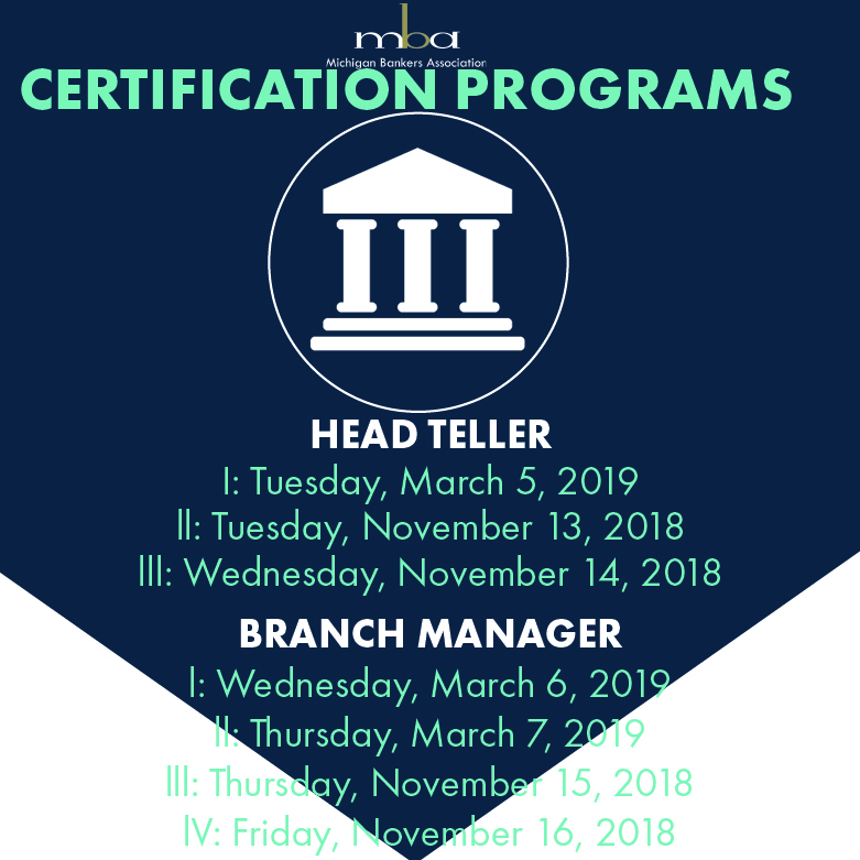 Branch Manager Certification Session I 03/06/19