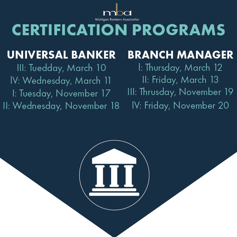 Branch Manager Certification Session II 03/13/2020