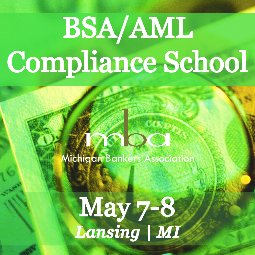 Bank Secrecy Act and Anti-Money Laundering School 5/7-8/19